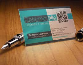 #72 untuk Logo and Business Card for Resume:Me oleh kdneel