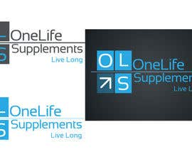 #12 cho Design a Logo for a custom supplement brand: OneLife Supplements- TagLine Live Long bởi developingtech