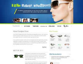 kethketh tarafından Design a Website Mockup for Eyeglass website için no 3