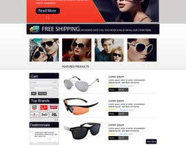 dilip08kmar tarafından Design a Website Mockup for Eyeglass website için no 6