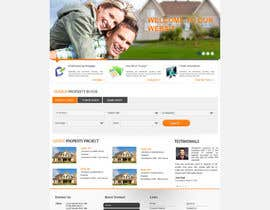 nº 33 pour Design a Website Mockup for Property Site par alimoon138