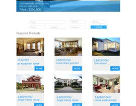 nº 31 pour Design a Website Mockup for Property Site par hemanthalaksiri