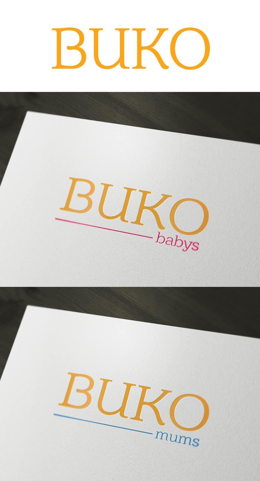 Penyertaan Peraduan #100 untuk Design a Logo for buko