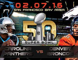 #12 for Design a Banner for Superbowl 50 by mirandalengo