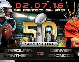 #13 for Design a Banner for Superbowl 50 by mirandalengo