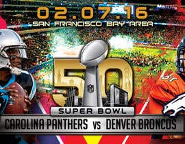 #16 for Design a Banner for Superbowl 50 by mirandalengo