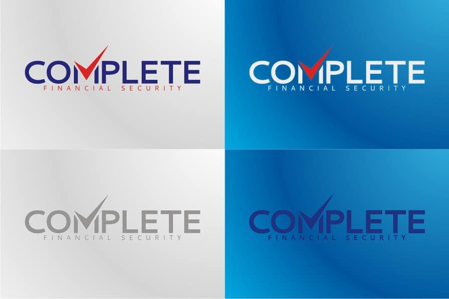 Kilpailutyö #335 kilpailussa Logo Design for Complete Financial Security