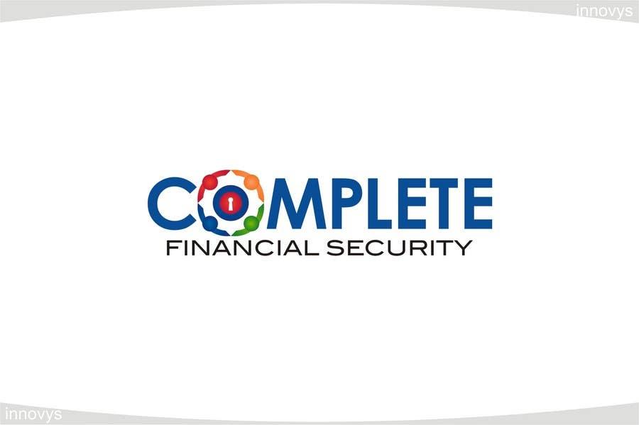 Kilpailutyö #540 kilpailussa Logo Design for Complete Financial Security