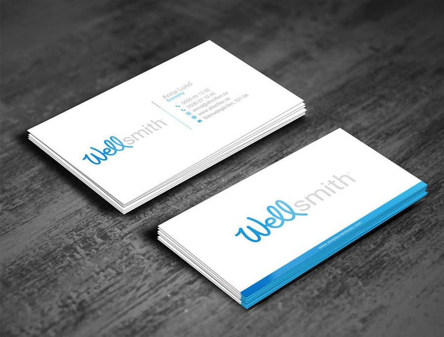 Entry 9 By Gohardecent For Design Business Card Powerpoint