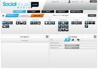 Proposition n° 20 du concours Graphic Design pour Website Design for Social House Media: Widget Page
