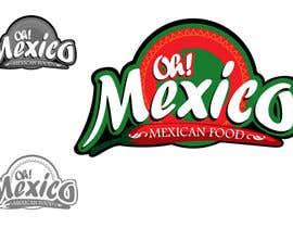 nº 27 pour Mexican Restaurant Logo par rogeliobello