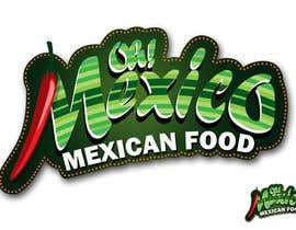 nº 141 pour Mexican Restaurant Logo par rogeliobello