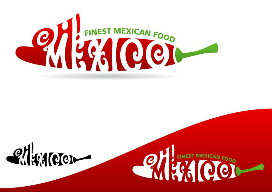 #208 for Mexican Restaurant Logo by rogerweikers