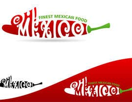 #208 cho Mexican Restaurant Logo bởi rogerweikers