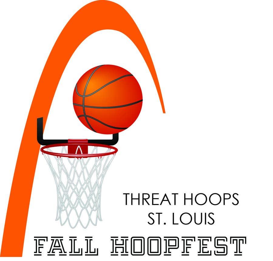 Penyertaan Peraduan #26 untuk Design a Logo for Youth Basketball Tournament