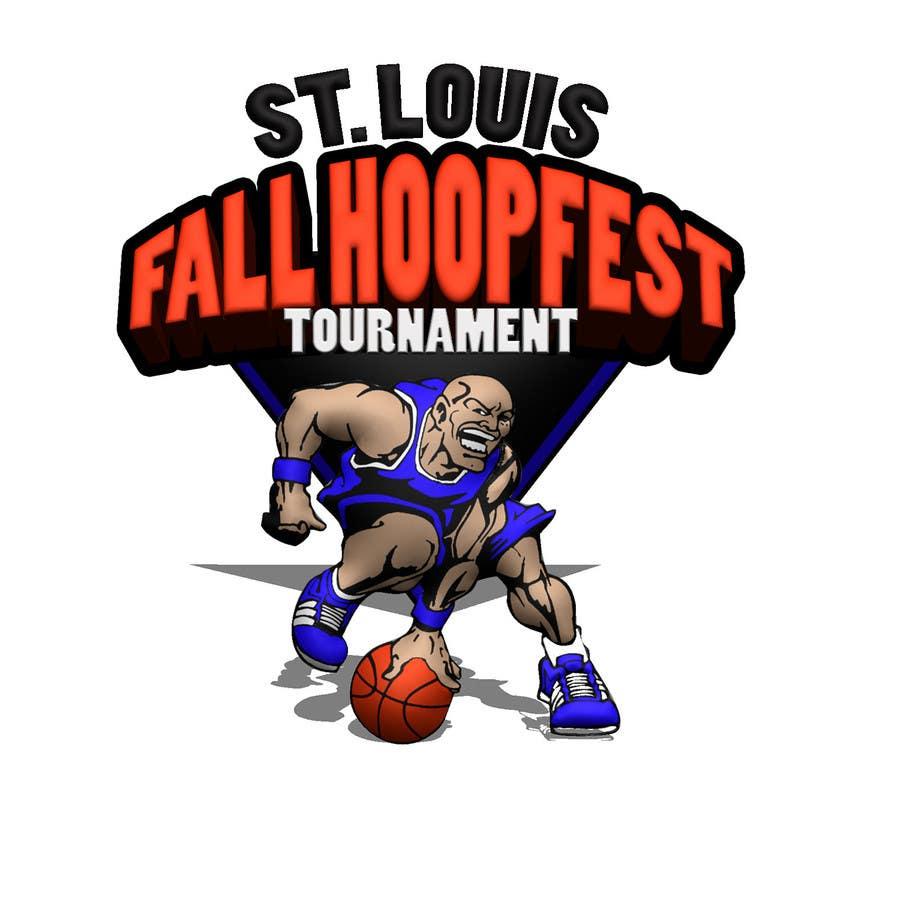 Penyertaan Peraduan #32 untuk Design a Logo for Youth Basketball Tournament