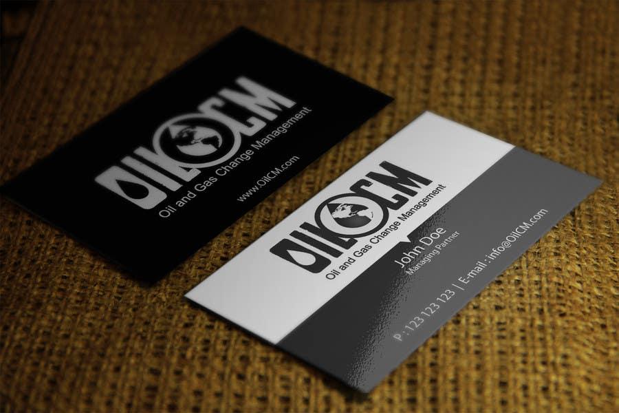 Penyertaan Peraduan #41 untuk Redesign Business Cards