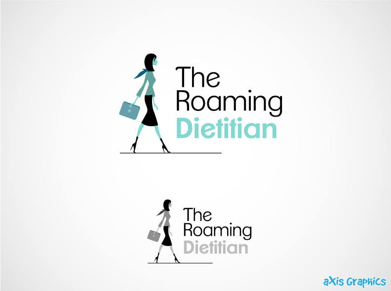 Konkurrenceindlæg #203 for Logo Design for A consulting and private practice business called 'The Roaming Dietitian'