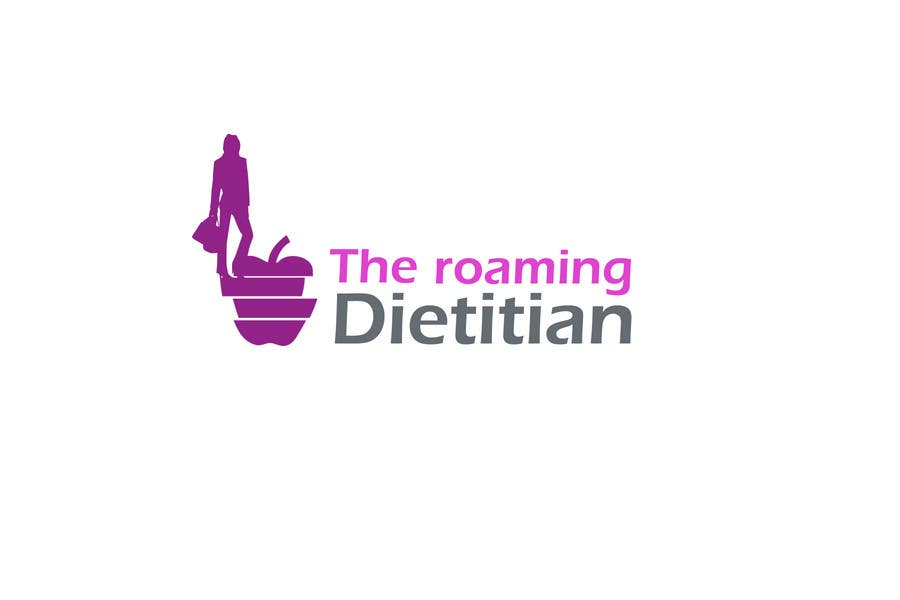 Konkurrenceindlæg #63 for Logo Design for A consulting and private practice business called 'The Roaming Dietitian'