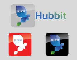 #453 cho Design a Logo for 'Hubbit' mobile app bởi duric