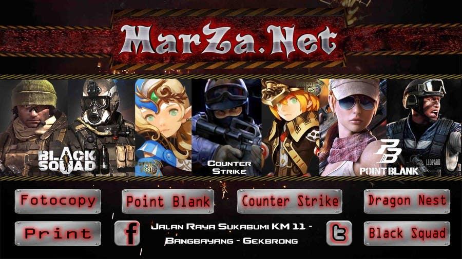 Entri Kontes Untukcreate Warnet Game Online Banner