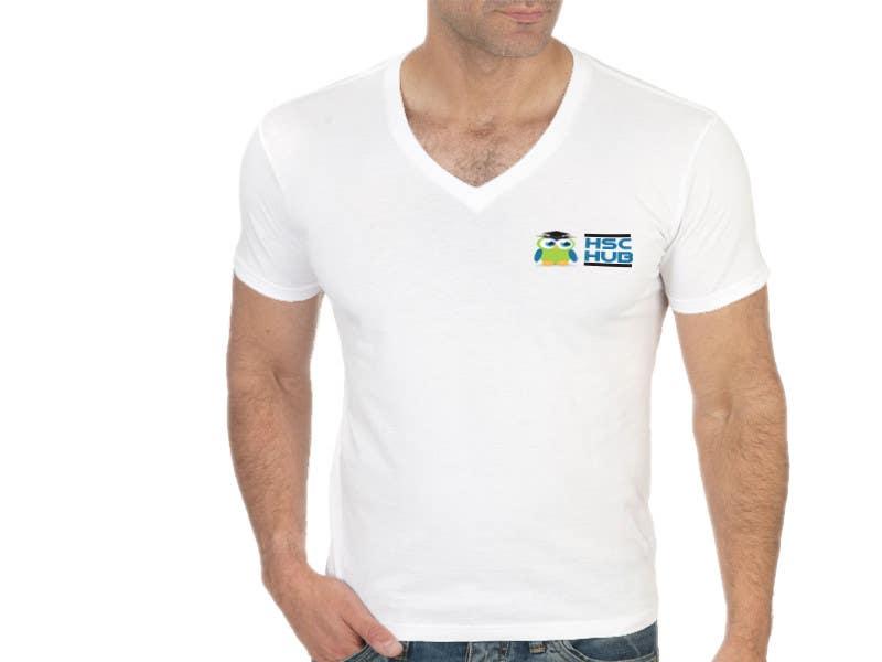#6 for Design a T-Shirt for Hschub.com by khaqanaizad
