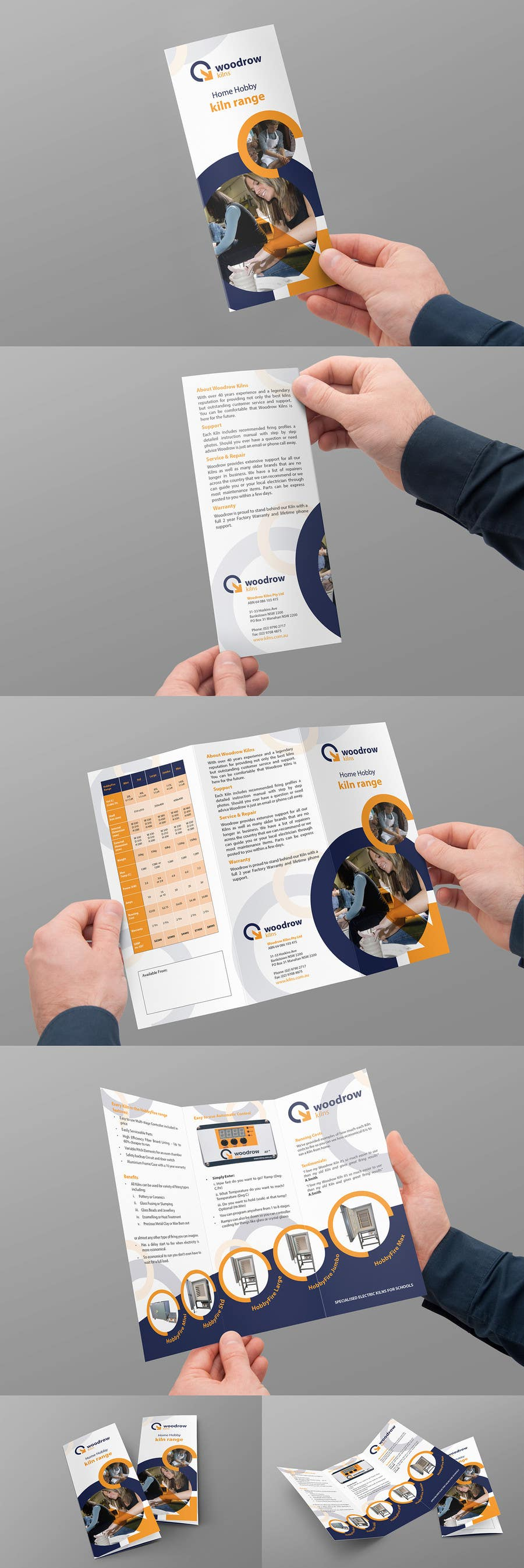 #16 for Design 2 Brochure /  Flyers based on our new theme. 2 Side A4 & Trifold A4 by Brandwar