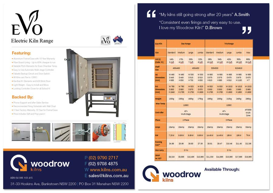 #9 for Design 2 Brochure /  Flyers based on our new theme. 2 Side A4 & Trifold A4 by ScribbleGD