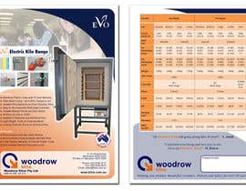 nº 23 pour Design 2 Brochure /  Flyers based on our new theme. 2 Side A4 & Trifold A4 par mcabalda