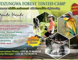#19 untuk Design a Advertisment for Udzungwa Forest Tented Camp oleh ambalaonline1
