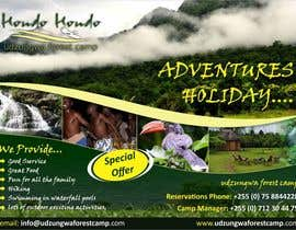 #26 untuk Design a Advertisment for Udzungwa Forest Tented Camp oleh ezesol