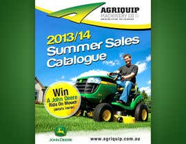 #61 cho Annual Sales Catalogue Front Cover (John Deere & Agriquip Machinery) bởi b74design
