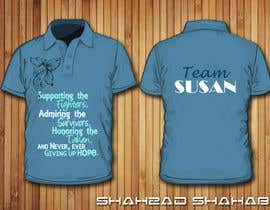 #12 for Design a T-Shirt for Walk to cure Lupus af shahzadshahab