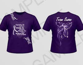 #8 para Design a T-Shirt for Walk to cure Lupus por inkpotstudios