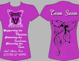 nº 3 pour Design a T-Shirt for Walk to cure Lupus par AishKhamesra
