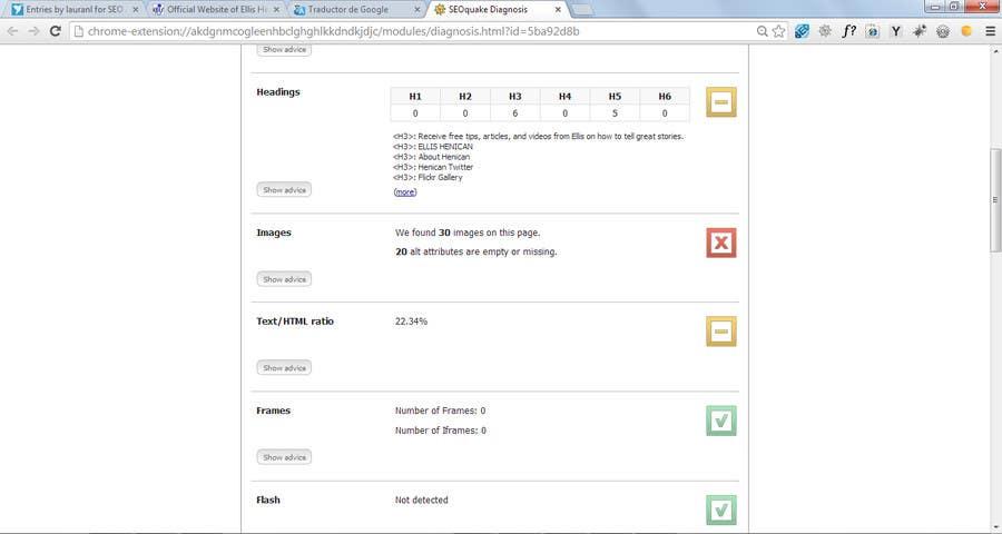 Kilpailutyö #14 kilpailussa SEO / SEM EXPERT Needed for WordPress Website (Blog & Video)