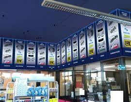 #21 per Stampa pubblicitaria per negozio di ricambi auto/ Promo Banner Spare Parts Shop da SimoneP1974