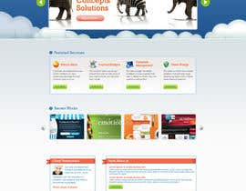 nº 3 pour Wordpress Theme Design for Blue Baboon Advertising par tania06