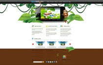 #14 for Wordpress Theme Design for Blue Baboon Advertising by Flamex