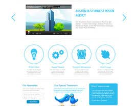 #70 для Wordpress Theme Design for Blue Baboon Advertising от infocuspro