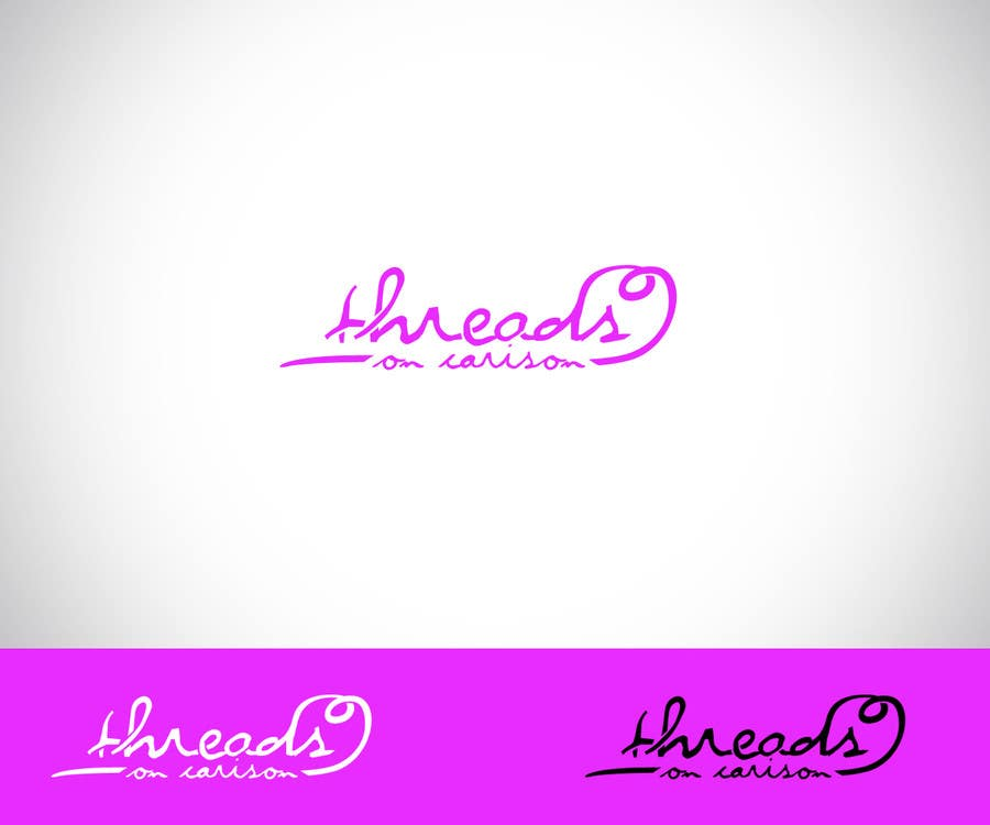 "Kilpailutyö #38 kilpailussa Design a Logo for ""Threads"""