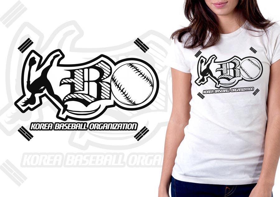#6 for Design a T-Shirt for a Korean baseball website by mckirbz