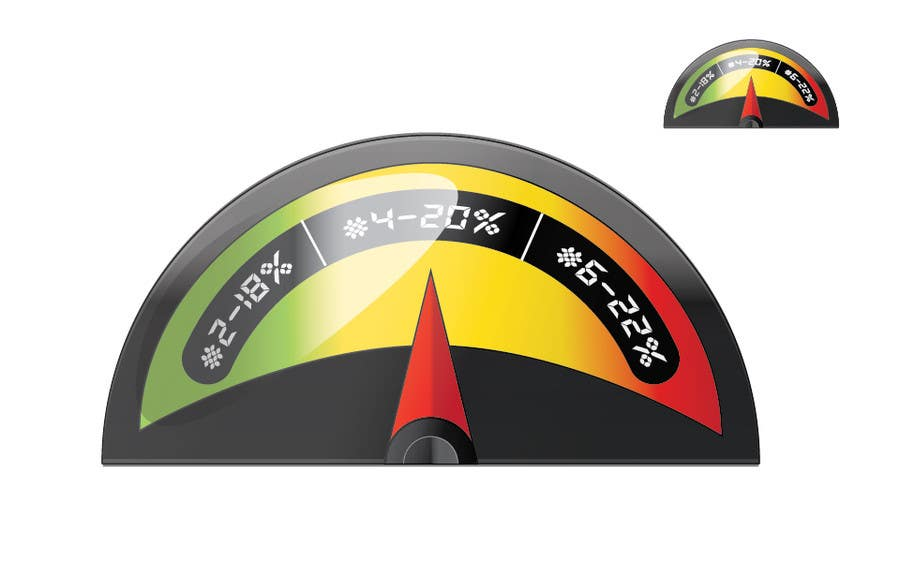 #1 for Need a website graphic of a meter / gauge by umamaheswararao3