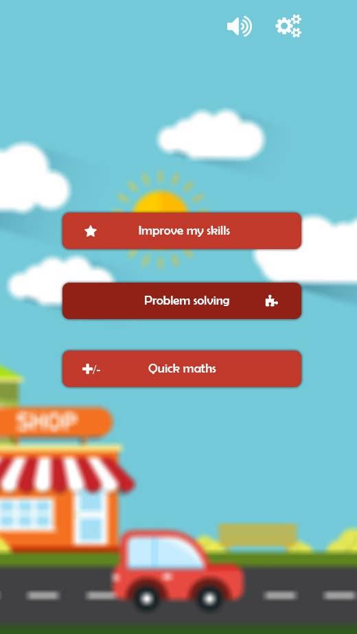 Entry #6 by myrusdesign for Design App Mockup | Kids Math App ...