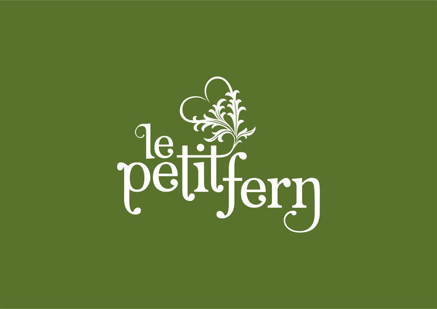 #45 for Design a Logo for le petit fern by rogerweikers