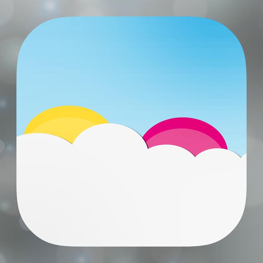 Bài tham dự cuộc thi #                                        4                                      cho                                         Design an App Mockup for FUN picture APP.  Sleek, fun, simple, colorful!