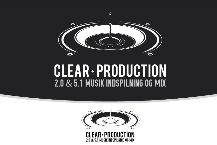 "Contest Entry #                                        789                                      for                                         Logo Design for ""CLEAR PRODUCTION"" - Recording a mixing studio in Copenhagen"