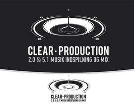 "#789 for Logo Design for ""CLEAR PRODUCTION"" - Recording a mixing studio in Copenhagen af marcoartdesign"