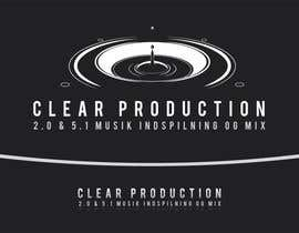 "marcoartdesign tarafından Logo Design for ""CLEAR PRODUCTION"" - Recording a mixing studio in Copenhagen için no 801"