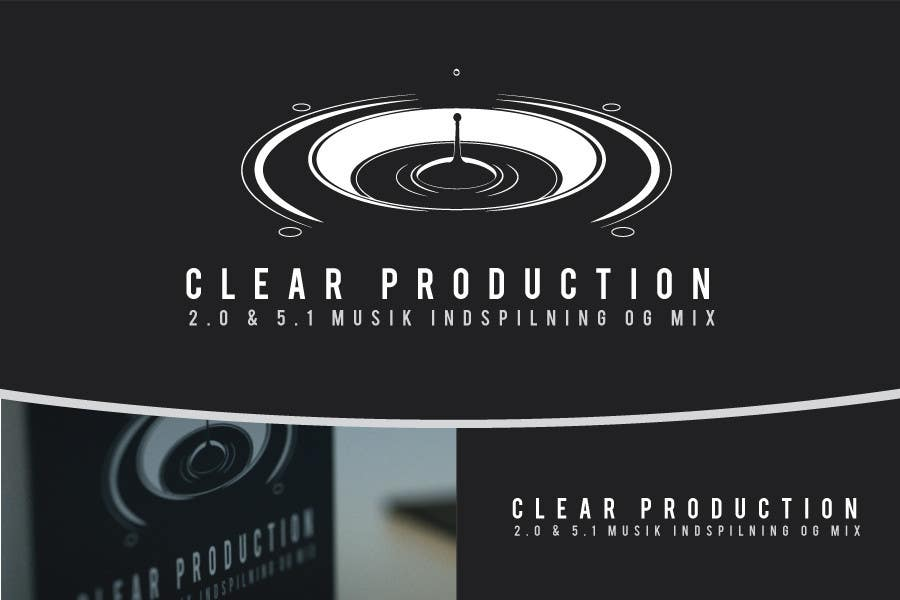 "Contest Entry #                                        795                                      for                                         Logo Design for ""CLEAR PRODUCTION"" - Recording a mixing studio in Copenhagen"